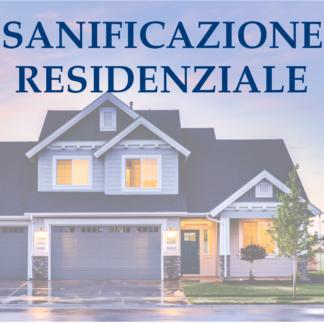 Sanificazione residenziale